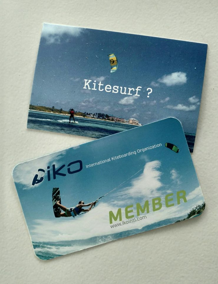 Kitesurfing IKO certification